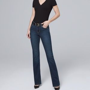 WHITE HOUSE BLACK MARKET WHBM BOOTCUT DENIM JEANS